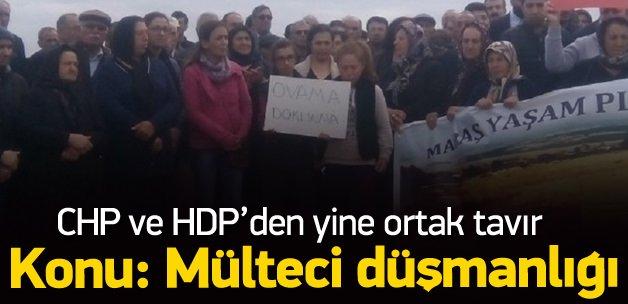 HDP ve CHP resmen mülteci düşmanı