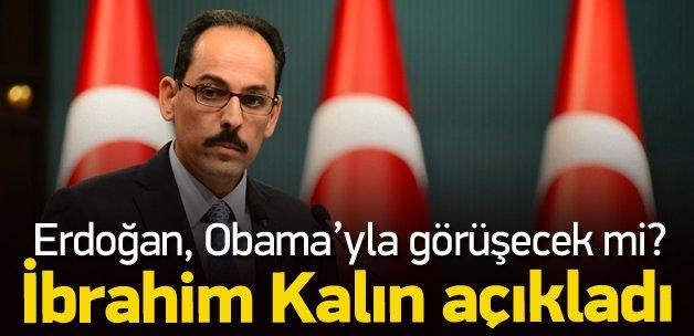 İbrahim Kalın'dan Obama açıklaması