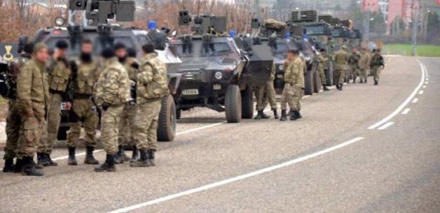 İdil'de şiddetli çatışma: 2 asker yaralı!