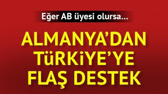 İki Alman bakandan Türkiye'nin AB üyeliğine destek