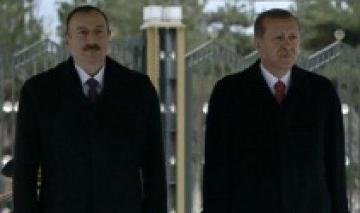 İlham Aliyev Beştepe'de