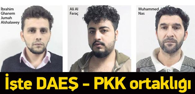 IŞİD'in PKK ile ortaklığı kanıtlandı