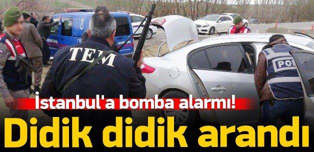 İstanbul'a giren araçlar didik didik arandı