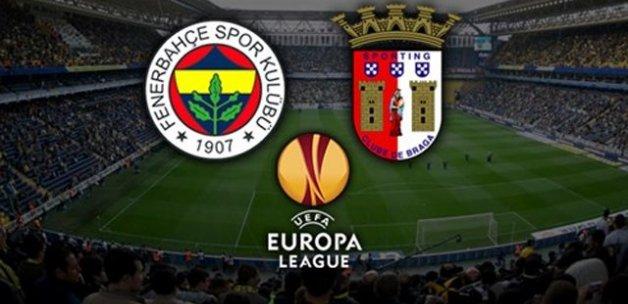 İşte Fenerbahçe'nin Braga 11'i