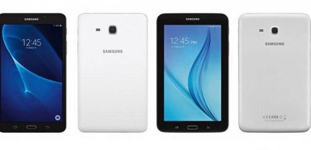 İşte Samsung'un yeni tabletleri