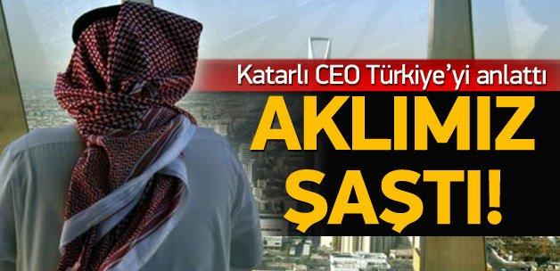 Katarlı CEO'dan Türkiye yorumu: Aklımız şaştı