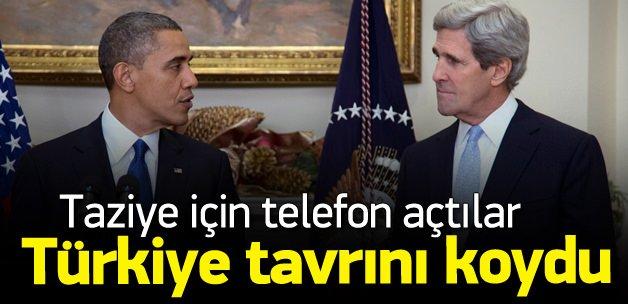 Kerry'den Çavuşoğlu'na taziye telefonu