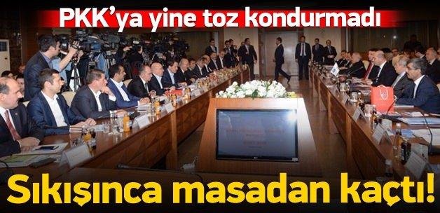 KESK yine PKK'ya toz kondurmadı!