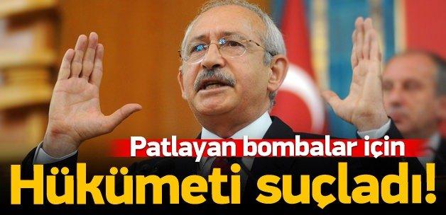 Kılıçdaroğlu hükümeti suçladı!