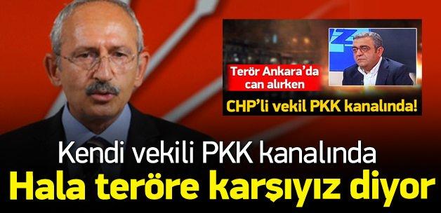 Kılıçdaroğlu PKK kanalına çıkan vekilini görmedi