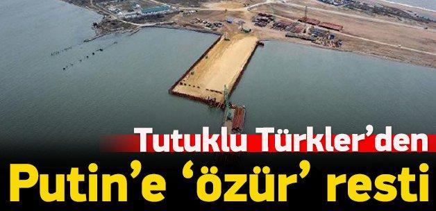 Kırım'da tutuklu Türk mürettebattan özür resti