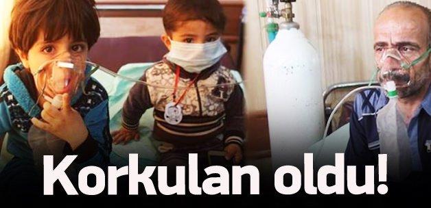 Korkulan oldu! IŞİD kimyasal kullandı