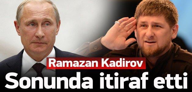 Kukla Kadirov'dan 'Putin' itirafı