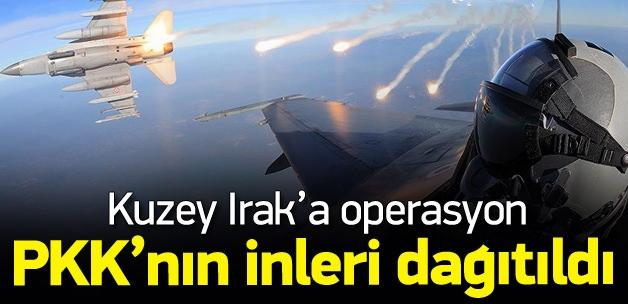 Kzuey Irak'a hava operasyonu