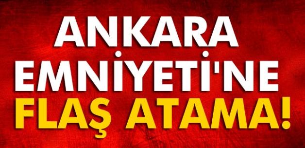 Mahmut Karaaslan, Ankara Emniyet Müdürlüğü'ne atandı