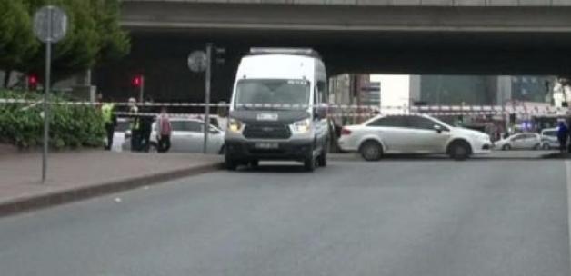 Mecidiyeköy'de şüpheli minibüs hareketliliği