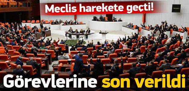 Meclis harekete geçti, görevlerine son verildi