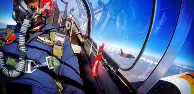 Milli uçağımız hız rekorunu kırdı