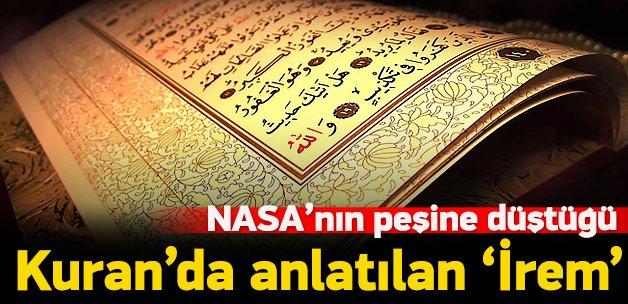 NASA İrem'in peşine düştü!