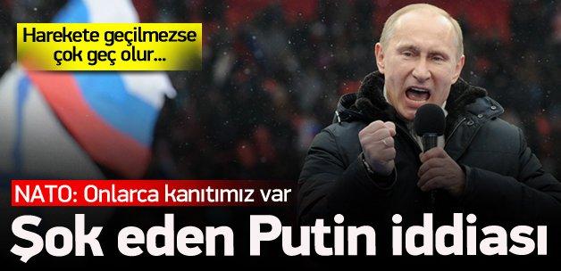 NATO'dan Putin-Merkel iddiası