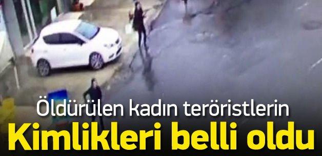 Öldürülen teröristlerin kimlikleri belli oldu