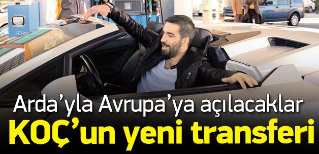 OPET, Arda Turan ile Avrupa'ya açılacak
