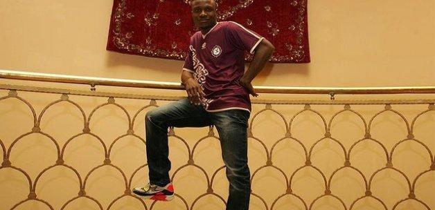 Osmanlısporlu futbolcu Umar'a hakaret davası