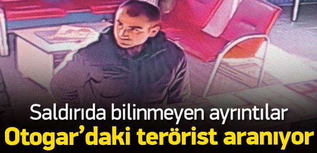 Otogarda başka bir terörist karşılamış