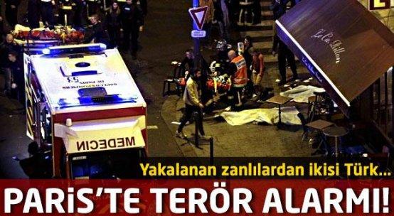 Paris'te terör alarmı! Zanlılardan ikisi Türk...