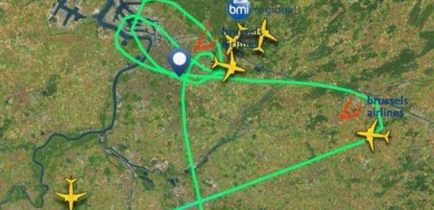 Patlama THY uçağı aprondayken oldu