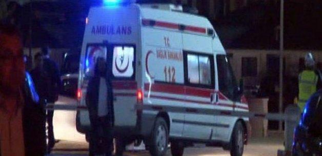 PKK'lıların attığı molotof komiseri yaktı!