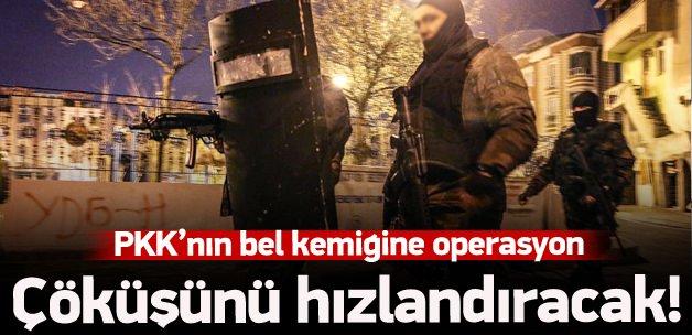PKK'nın bel kemiğine operasyon