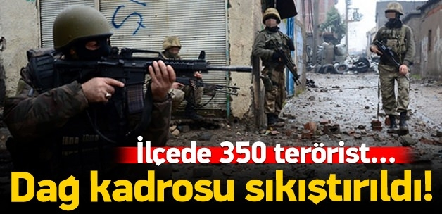 PKK'nın dağ kadrosu Nusaybin'de sıkıştırıldı