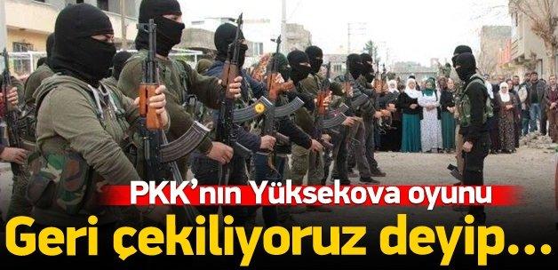 PKK'nın Yüksekova planı belli oldu!