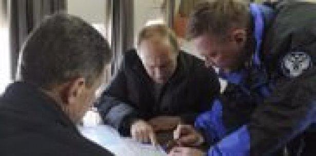 Putin işgal ettiği Kırım'da