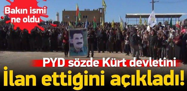 PYD 'Kuzey Suriye Federasyonu' kuruyormuş!