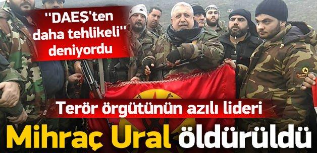 Reyhanlı katliamının sorumlusu öldürüldü terörist Mihraç Ural, Suriye