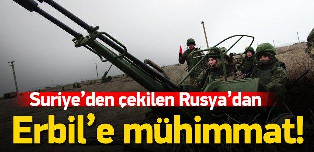 Rusya'dan Erbil'e beş uçaksavar