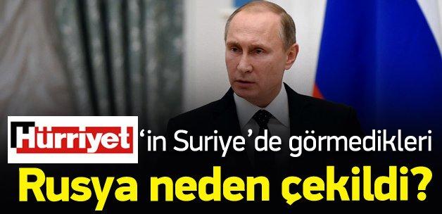Rusya Suriye'den neden çekildi?