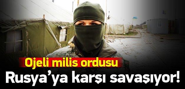 Rusya'ya karşı savaşan ojeli milisler
