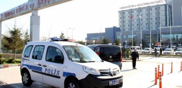 Samsun'da hastane kantinine silahlı saldırı, 2 yaralı