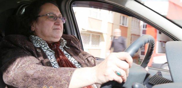 """Şoförlerin """"Fatma abla""""sı"""