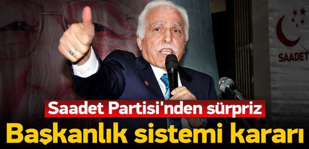 SP'den sürpriz 'başkanlık sistemi' kararı