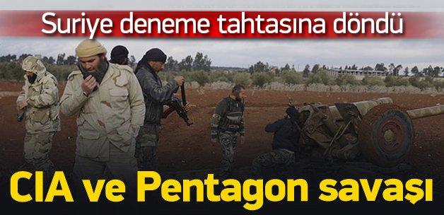 Suriye'de Pentagon CIA'e karşı savaşıyor