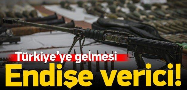 Suriye'deki silahlar Türkiye'ye geliyor!