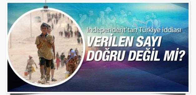 Suriyeli sayısı doğru mu Independent'tan Türkiye iddiası