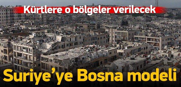 Suriye'ye Bosna modeli federasyon