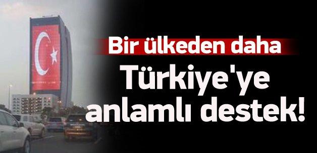 Suudi Arabistan'da Türkiye'ye anlamlı destek