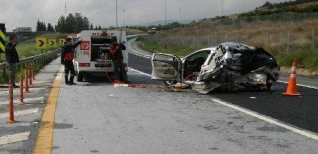 Tarsus'ta kaza: 2 ölü, 2 yaralı