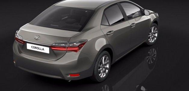 Toyota Corolla makyajlandı!